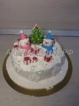 Новогодний детский торт