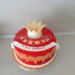 Торт с короной для княжны