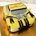 Торт Машина, торт для мальчика