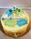 Торт на День рождения двойняшек