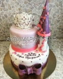 Торт для принцессы в виде замка