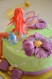 Авторский торт Фея Динь-Динь фото