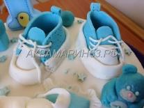 Торт на заказ в Самаре на 1 год мальчику