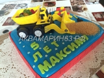 Торт на заказ в Самаре на 5 лет мальчику