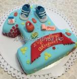 Заказ торта на 1 год мальчику