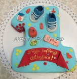 Торт на 1 год мальчику