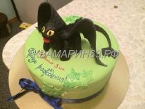 Торт в виде дракончика