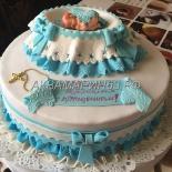Торт на крещение ребенка
