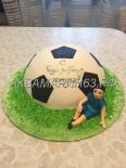 Торт в подарок футболисту