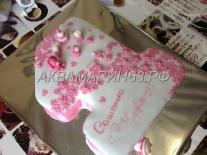 Торт на День рождения девочки, заказ в Самаре