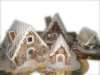 Деревня из пряничных домиков