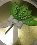Торт - букет ландышей