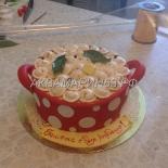 Торт - кастрюля с пельменями