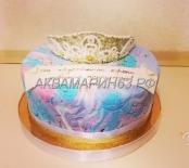 Торт - хрустальная корона принцессы