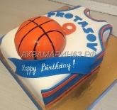 Торт для баскетболиста