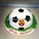 Торт в подарок футболисту - Барселона