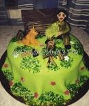 Торт с фигуркой именинника