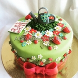 Торт в подарок дачнице