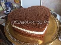 Процесс изготовления торта