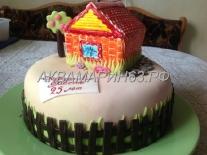 Торт на серебряную свадьбу заказ в Самаре