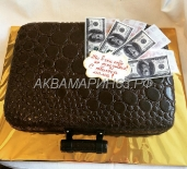 Торт чемодан с деньгами - ни в чём себе не отказывай!