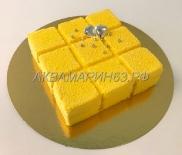 Муссовый торт Солнечное манго