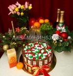 Торт с конфетами и шоколадом