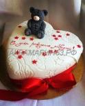 Торт на день рождения любимого