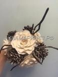 Сахарная флористика - цветок для украшения торта