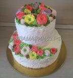 Кремовый торт в малазийском стиле