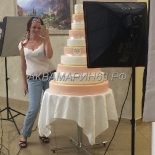 Торт на свадьбу многоярусный с доставкой в Самаре